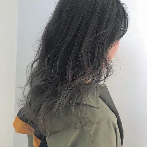 担当シオリ @shiori_tomii 毛先のみケアブリーチしてラベンダーグレージュのグラデーション#hearty#shiori_hair #ラベンダーグレージュ#高崎美容室