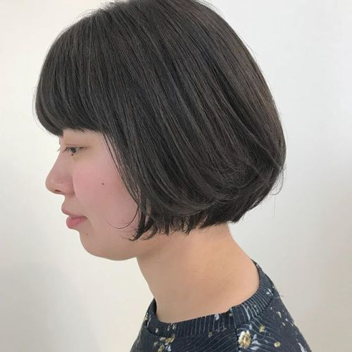 担当シオリ @shiori_tomii 安定のグレージュcolor🐋🐋#hearty#shiori_hair #グレージュ#高崎美容室