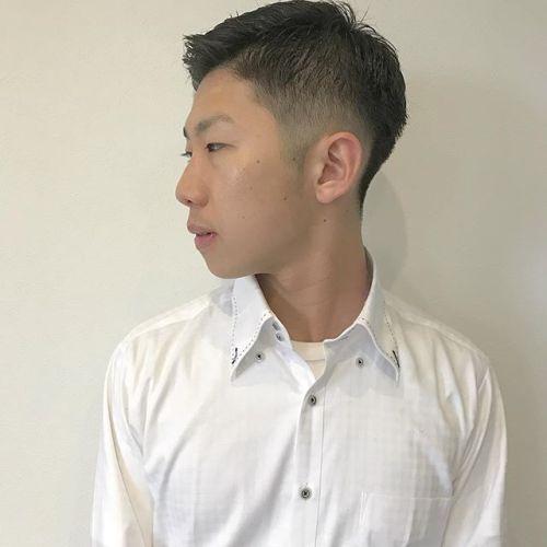 担当 @sugita.ryosuke しっかり刈り上げたバーバースタイル︎#高崎 #高崎美容室 #hearty #ショート #メンズ #刈り上げ #バーバースタイル