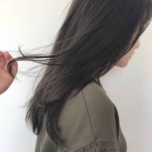 担当シオリ @shiori_tomii 柔らかベージュ#hearty#shiori_hair #ベージュ#高崎美容室#透明感カラー