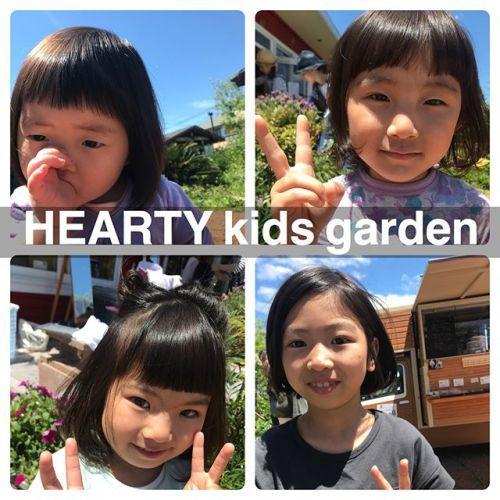 担当シオリ @shiori_tomii 先日のkids gardenにて切らせていただいたお客さま♡みんなかわいすぎました!青空の下でのカットが気持ちよくて最高なkids garden日和になりました♡来ていただいたお客さまありがとうございました♡#HEARTY#shiori_hair #heartykidsgarden #高崎美容室#高崎