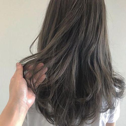 担当シオリ @shiori_tomii オレンジ味を抑えたマットベージュ#hearty#shiori_hair #マットベージュ#カーキベージュ#高崎美容室#高崎
