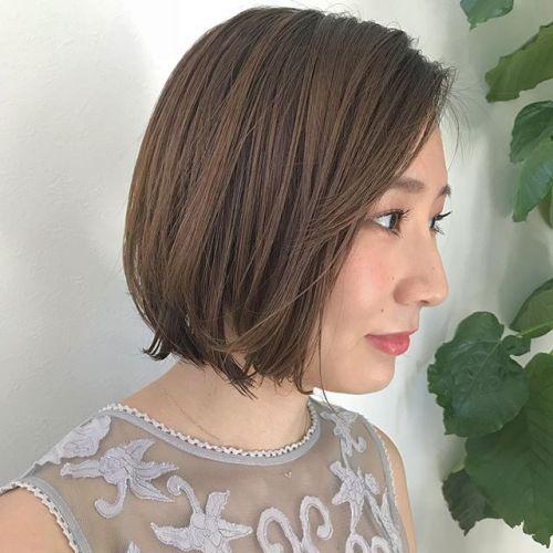 担当シオリ @shiori_tomii しばれるギリギリの長さでバッサリcut🧚♀️#hearty #shiori_hair #ショートボブ #ショートヘア #ボブ #高崎美容室#高崎
