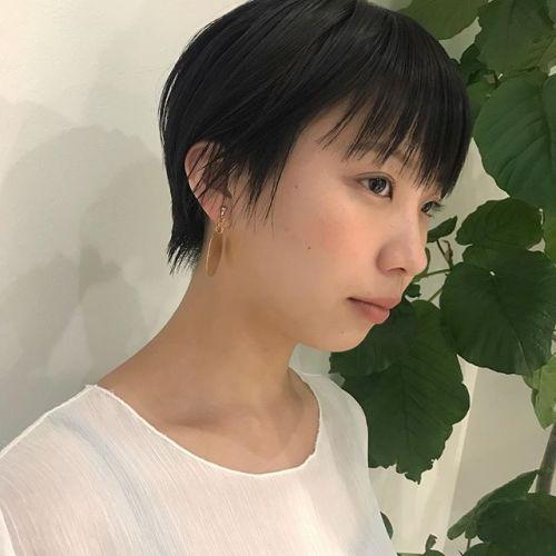 担当シオリ @shiori_tomii 大人short hair鹿#hearty #shiori_hair #shorthair #ショートヘア #大人ショート #高崎#高崎美容室