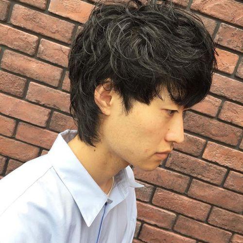 stylist:塚越メンズのマッシュウルフ︎7月からheartyでのご予約お待ちしてます!#hearty#高崎#メンズヘア#マッシュショート#ウルフ