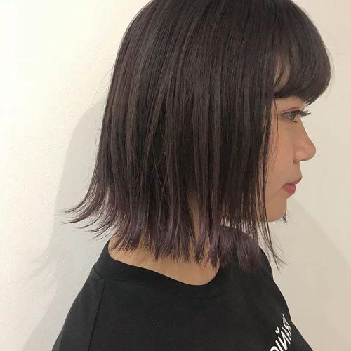 担当シオリ @shiori_tomii ピンクブラウンのグラデーション🤸♀️#hearty#shiori_hair #ピンクブラウン#グラデーション#bob#高崎美容室#高崎