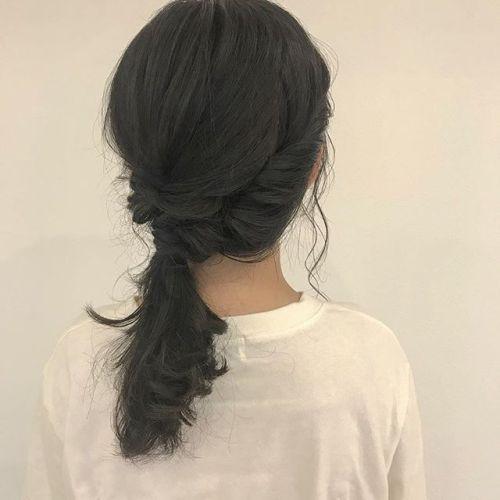 担当シオリ @shiori_tomii グレージュカラーに仕上げはアレンジで高崎祭りのセットのご予約もぜひおまちしています#hearty#shiori_hair #グレージュ#ヘアアレンジ#hairarrange #高崎美容室#高崎