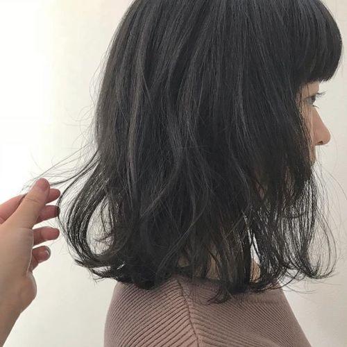 担当シオリ @shiori_tomii 色落ちを考慮したマットグレージュ#hearty#shiori_hair #マットグレージュ#グレージュ#高崎美容室#高崎