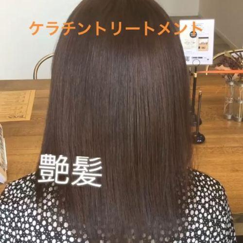 先月から始まってる大好評のケラチントリートメントです♪究極の艶を体験してみてください︎#hearty #艶髪 #ケラチントリートメント #艶髪文化 #高崎美容室