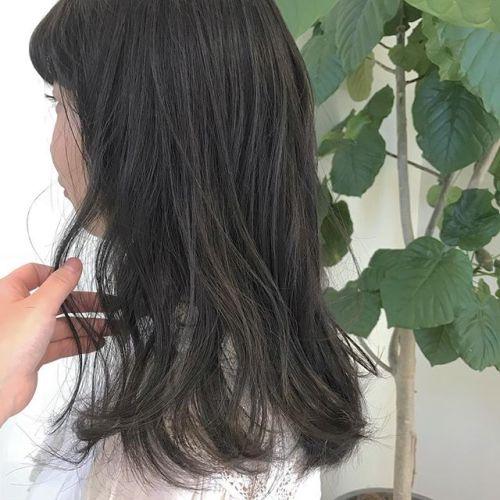 担当シオリ @shiori_tomii ブリーチなしのグレージュカラー🦈🦈#hearty#shiori_hair #グレージュ#高崎美容室#高崎