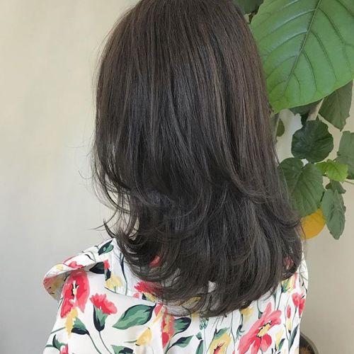 担当シオリ @shiori_tomii トーンダウンのグレージュカラー🥣#hearty#shiori_hair#グレージュ#ベージュカラー #高崎美容室 #高崎