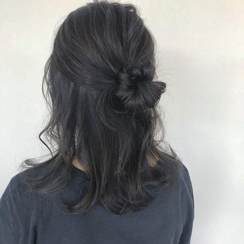 担当シオリ @shiori_tomii ハーフアップアレンジ#hearty#shiori_hair #ハーフアップ #ハーフアップアレンジ#ヘアアレンジ#高崎美容室#高崎