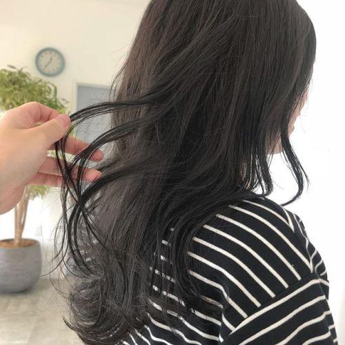 担当シオリ @shiori_tomii 透け透けなグレージュ#hearty#shiori_hair #グレージュ#透明感カラー#ヘアカラー#高崎美容室#高崎