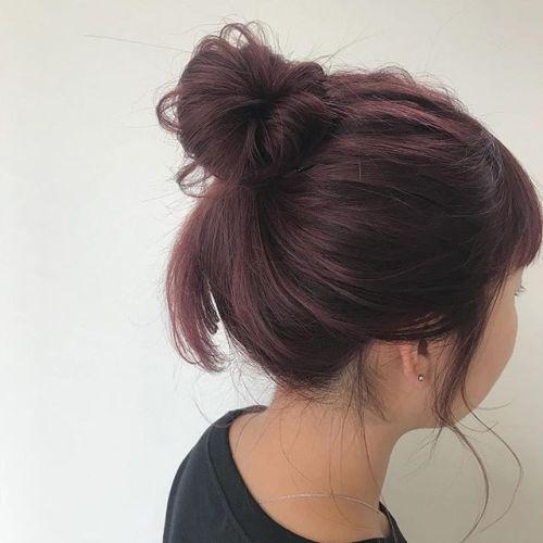 pink color🌜🌜#hearty#shiori_hair #ピンクカラー#お団子アレンジ#ヘアスタイル#ヘアアレンジ#髪型#高崎美容室#高崎