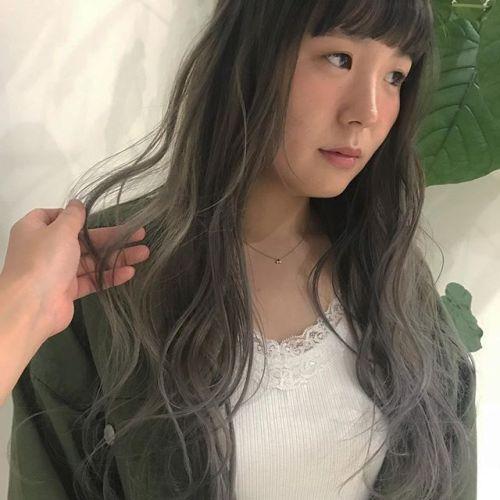 担当シオリ @shiori_tomii ホワイトアッシュ#hearty#shiori_hair #ホワイトアッシュ#ラベンダーアッシュ #ハイトーン#ヘアスタイル#ヘアカラー#高崎美容室#高崎