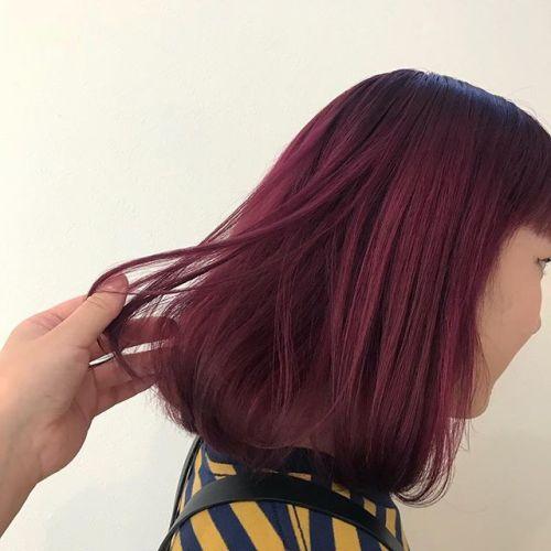 担当シオリ @shiori_tomii pink color✡️#hearty#shiori_hair #ピンクカラー#ピンクヘアー#ヘアカラー#ヘアスタイル#高崎美容室#高崎