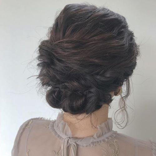 担当シオリ @shiori_tomii hair set#hearty#shiori_hair #ヘアセット#ヘアアレンジ#結婚式ヘア #成人式ヘア #高崎美容室#高崎