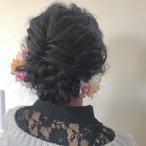担当シオリ @shiori_tomii 前撮りヘアセット#hearty#shiori_hair #前撮りヘアセット#ヘアセット#ヘアアレンジ#成人式ヘア#ヘアスタイル#ヘアカラー#高崎美容室#群馬美容室#高崎#群馬