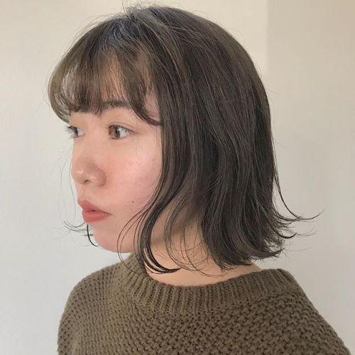 担当シオリ @shiori_tomii カーキベージュ#hearty#shiori_hair #グレージュ#カーキアッシュ #カーキベージュ#グラデーション#ヘアスタイル#ヘアカラー#高崎美容室#群馬美容室#高崎#群馬
