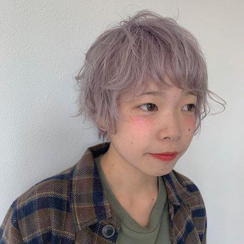 staff 都築のhair changehair:miyahara#hearty#ヘアスタイル#ヘアカラー#ピンクヘア#ピンクベージュ#高崎美容室#群馬美容室#高崎#群馬