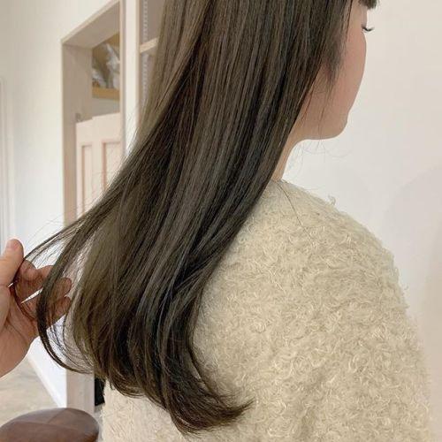 担当シオリ @shiori_tomii モカベージュ今年の冬は柔らかいベージュが人気です♡#hearty#shiori_hair #モカベージュ#クリーミーベージュ #ベージュ#高崎美容室#群馬美容室#高崎#群馬