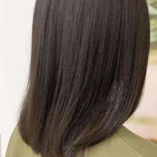 担当シオリ @shiori_tomii くせ毛で毛質の硬いのがお悩みのお客様もこの通り♀️ #美髪チャージ #ハーティー #トリートメント #艶髪 #高崎 #美容室 #エイジングケア #艶髪文化 #abond #アボンド #最新 #髪型 #髪質改善 #HEARTY #ケラチン#今日の艶