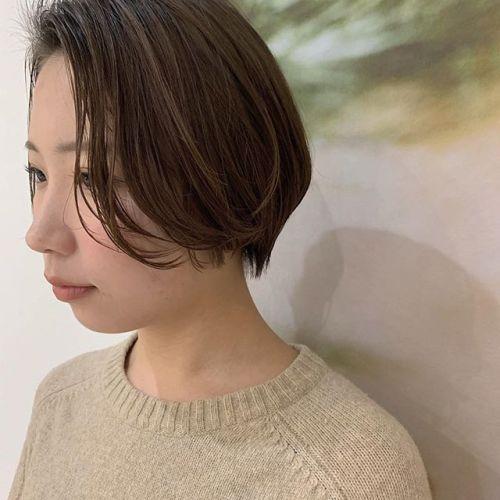担当シオリ @shiori_tomii 安定のハンサムショート♂️#hearty#shiori_hair #ハンサムショート#ショートヘア#高崎美容室#群馬美容室#高崎#群馬