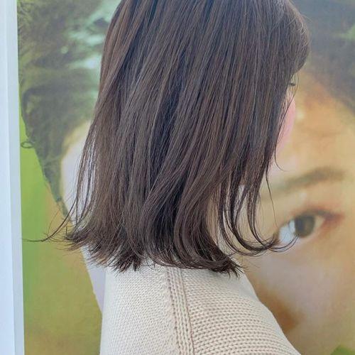 担当シオリ @shiori_tomii 王道ベージュ#hearty#shiori_hair #アッシュベージュ#グレージュ#地毛風カラー#ベージュ#高崎美容室#群馬美容室#高崎#群馬