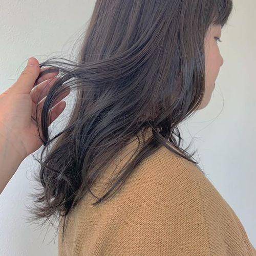 担当シオリ @shiori_tomii グレージュ#hearty#shiori_hair #グレージュ#アッシュベージュ#ベージュ#高崎美容室#群馬美容室#高崎#群馬