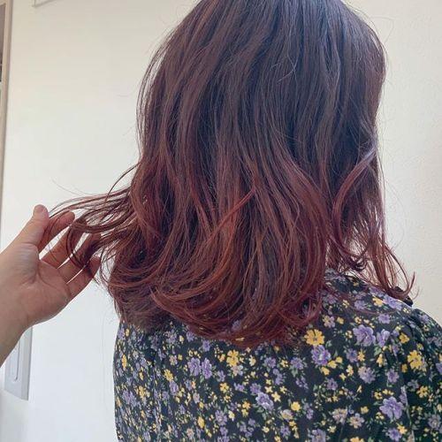 担当シオリ @shiori_tomii ピンクグラデーション#hearty#shiori_hair #ピンクグラデーション#ピンクベージュ #カラーバター#グラデーション#ヘアスタイル#ヘアアレンジ#高崎美容室#群馬美容室#高崎#群馬