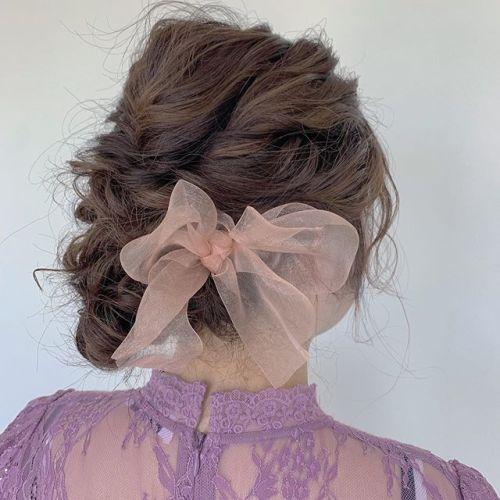 担当シオリ @shiori_tomii 大人かわいくsetしました#hearty#shiori_hair #ヘアセット#ヘアアレンジ#結婚式ヘア#二次会ヘア #成人式ヘア #高崎美容室#群馬美容室#高崎#群馬