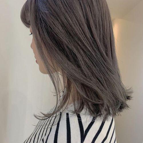 担当シオリ @shiori_tomii くすんだほんのりピンクパールカラー#hearty#shiori_hair #ピンクアッシュ #ピンクパール#ピンクアッシュ#アッシュグレー #アッシュベージュ #高崎美容室#群馬美容室#高崎#群馬