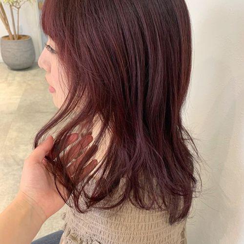 担当シオリ @shiori_tomii ブリーチなしのピンクカラー#hearty#shiori_hair #ピンクベージュ #ピンクブラウン #高崎美容室#群馬美容室#高崎#群馬