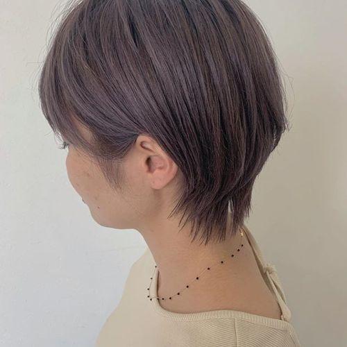 担当シオリ @shiori_tomii ブルーラベンダー透明感抜群です!#hearty#shiori_hair #ブルーラベンダー#ラベンダー#ラベンダーアッシュ #ラベンダーベージュ #高崎美容室#群馬美容室#高崎#群馬