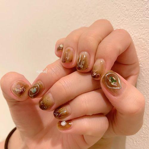 abondにてカラーと同時施術︎#riconail #HEARTY #abond #nail #nails #gelnail #gelnails #nailart #instanails #nailstagram #beauty #fashion #nuancenail #ネイル #ジェルネイル #ネイルケア #ニュアンスネイル #個性派ネイル @heartyabond @riconail123