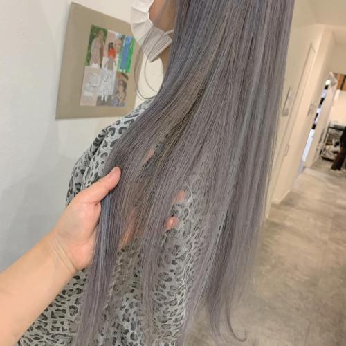 stylist トミイシオリ @shiori_tomii #hearty#shiori_hair #ホワイトベージュ #ラベンダーアッシュ #ラベンダーグレージュ #ハイトーン#高崎美容室#群馬美容室#高崎#群馬
