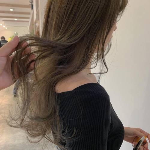 担当シオリ @shiori_tomii マットベージュ#hearty#shiori_hair #マットベージュ#アッシュベージュ##高崎美容室#群馬美容室#高崎#群馬