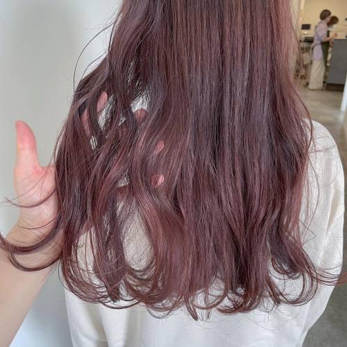 担当シオリ @shiori_tomii ピンクグレー#hearty#shiori_hair #ピンクグレー#ピンクベージュ #ピンクカラー #ピンクアッシュ #ピンクグレージュ #高崎美容室#群馬美容室#高崎#群馬