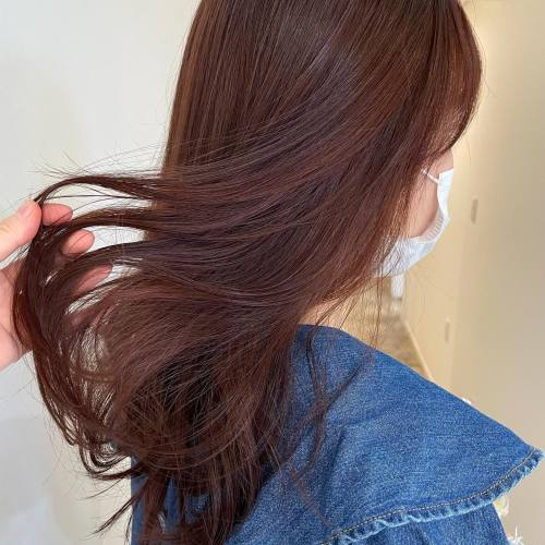担当シオリ @shiori_tomii はじめてのカラーのお客様🥕レッドオレンジ#hearty#shiori_hair #アプリコット#アプリコットオレンジ #アプリコットブラウン #オレンジ#オレンジカラー #オレンジブラウン #オレンジベージュ #高崎美容室#群馬美容室#高崎#群馬