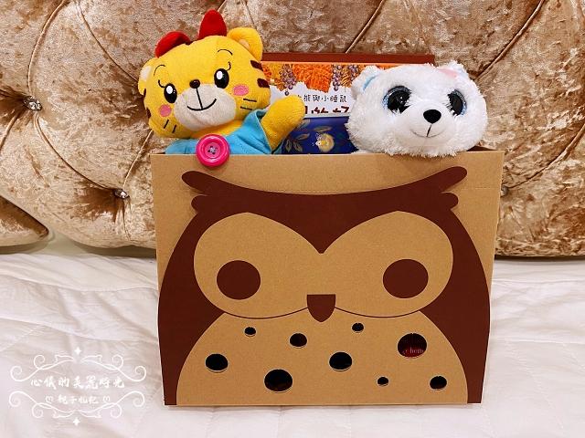 喜福小鷹LOGO收納禮物盒
