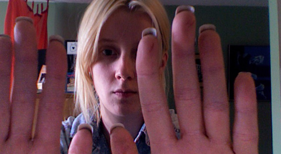 My Daggers For A Day Getting Fake Nails