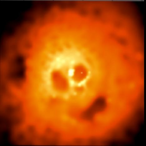 Chandra Image of the Perseus Cluster
