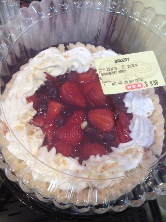 The Bavarian Cream Fruit Pie for Easter