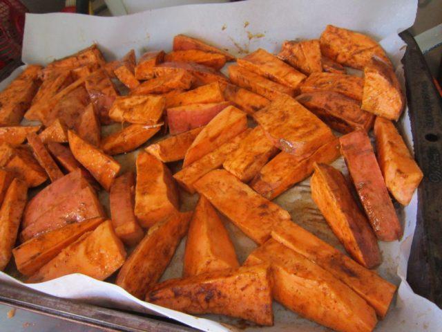 Sweet Potato Frites