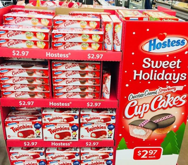 Hostess Christmas Pastries