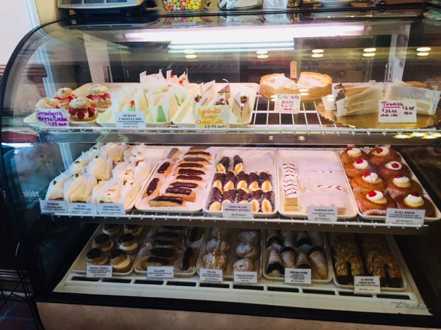 Angelo Brocato's first bakery case