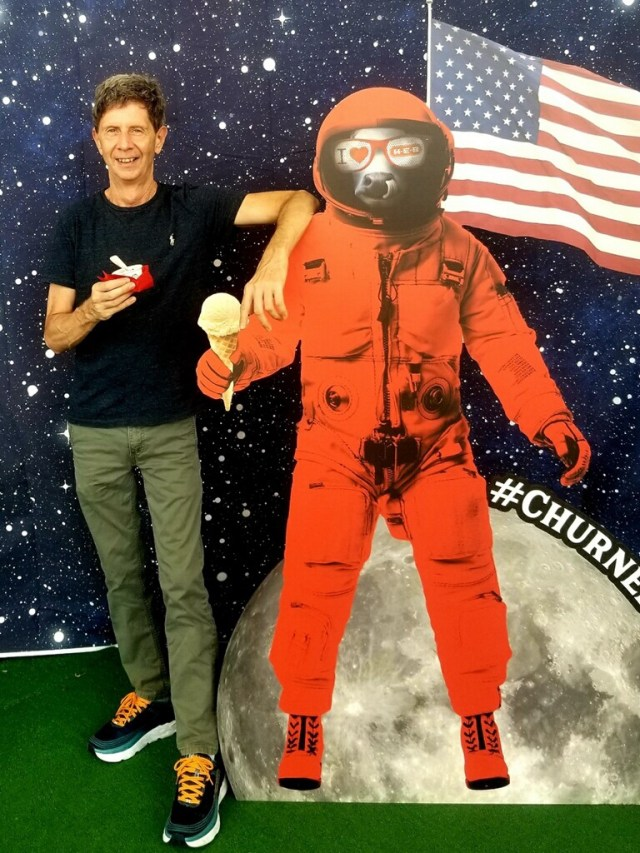 Neighbor E with Astronaut pic