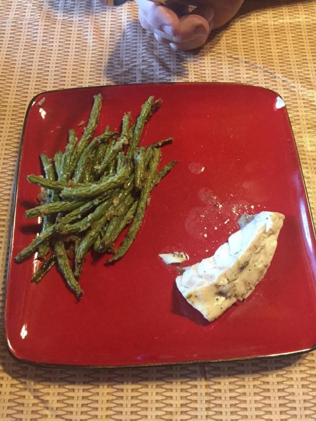 BF's Dinner plate