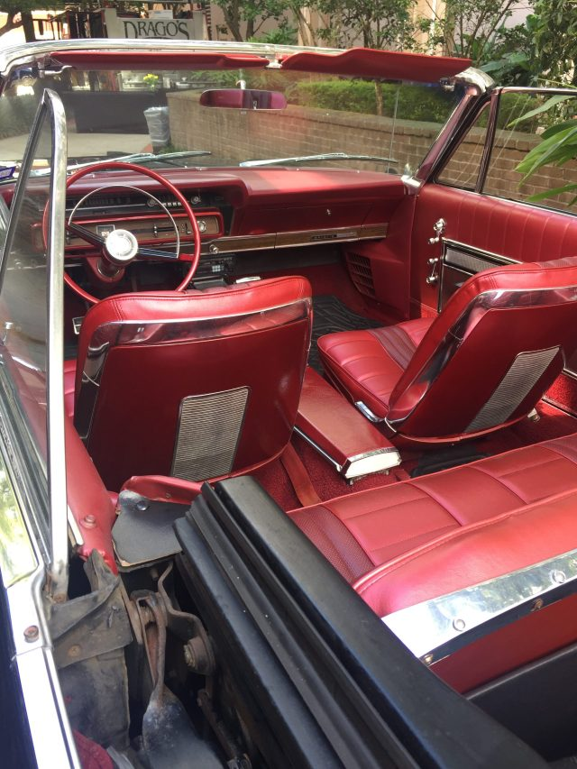 Interior of Galaxie