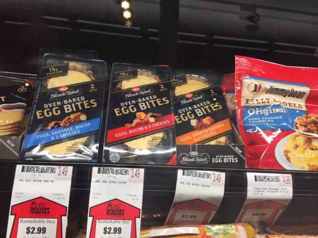 Hormel's Egg Bites In Rouse's